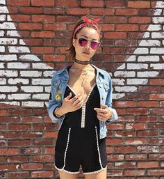 #edgy #coachella vibes in #anarchystreet x #youngandreckless ✨ #bts  Model @ohyoumi Styled by @songdani (Visit us today to shop for Coachel