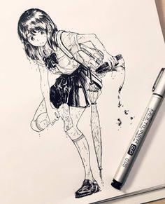 Manga Drawing, Manga Art, Drawing Sketches, Art Drawings, Opm Manga, Character Art, Character Design, Pen Art, Anime Sketch