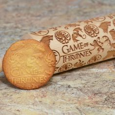 Excellent well made item - well packed, timely delivery - very satisfied Game Of Thrones Gifts, Game Of Thrones Fans, Custom Engraving, Laser Engraving, Rolling Pin, Cookie Decorating, Girl Birthday, Gifts For Kids, Delivery