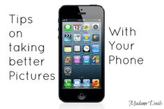 Learn how to take better pictures with your phone.