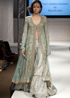Stylish Bridal Sharara Designs