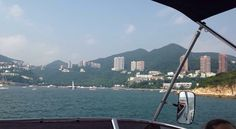 The view from the boat :)
