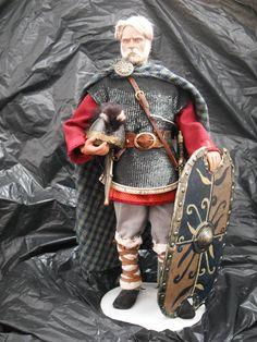 Guerreiro Suevo século V d.c. (2ª Versão)