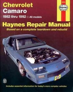 Chevrolet Camaro, 1982-1992 (Haynes Manuals)