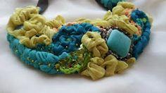 """Eden""-colier supradimensionat | Ralu's Handmade Jewellery"