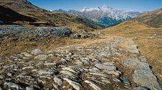 Mule track across the Splügen Pass Switzerland Tourism, Hiking, Mountains, Nature, Track, Alps, Switzerland, Walks, Runway