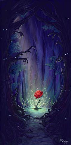 la-rose-de-l'enchanteur-web Delphine Vandelle