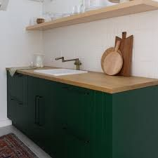 semihandmade juniper slab - Google Search Cabinet Fronts, Drawer Fronts, Glazed Brick, Sarah Sherman Samuel, Fireclay Tile, Ikea Cabinets, Updated Kitchen, Small Space Living, Front Design