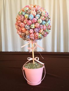 Baby Bridal Shower Birthday Party Dum Dum Lollipop Centerpiece Candy Buffet | eBay