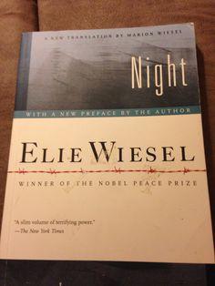 Elie Wiesel's gripping memoir Of being in Auschwitz & Buchenwald - a must read