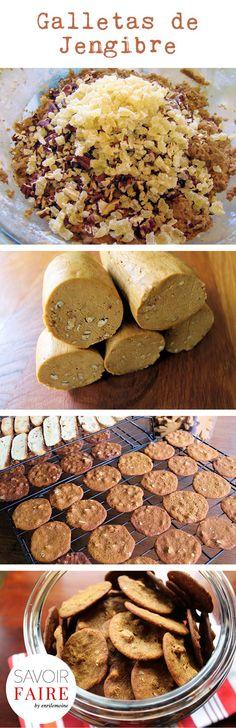 ¡Perfuma tu cocina horneando los sabores del #otoño! Prueba estas galletas de jengibre.