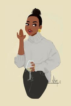 37 ideas for fashion art pictures girls Black Love Art, Black Girl Art, My Black Is Beautiful, Art Girl, African American Art, African Art, Arte Black, Art Occidental, Black Art Pictures