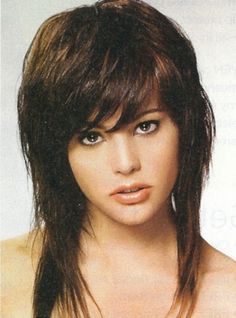 Long Length Cropped Top Shag Haircut Picture Design 462x624 Pixel