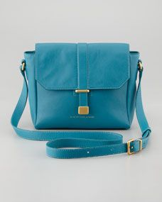 MARC by Marc Jacobs Natural Selection Mini Messenger Bag, Teal