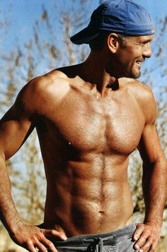 Country men, need I say more? Tim McGraw 50 did you good. my oh my.......