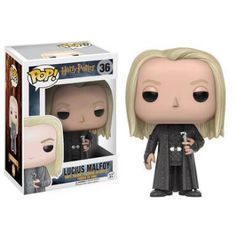 This+Pop+Harry+Potter+Movies+Lucius+Malfoy+figure+brings+the+pure+blood+wizard+to+life.+Wearing+his+black+ensemble+along+with+his+walking+stick,+Lucius+Malfoy+makes+for+an+adorable+Pop!+vinyl+figure.+Part+of+the+third+wave+of+figures,+Funko+continues+with+their+amazing+collection+of+Vinyl+Pop!+figures+with+a+great+unique+take+on+the+Harry+Potter+Film+Series+cast!+Measures+approximately+3+3/4+inches+tall+and+comes+packaged+in+a+window+box.+Made+by+Funko.