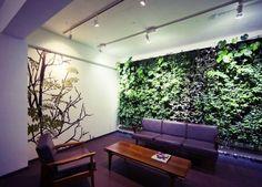 Vertical indoor garden    Decorações para apartamento que muita gente iria querer | O Buteco da Net