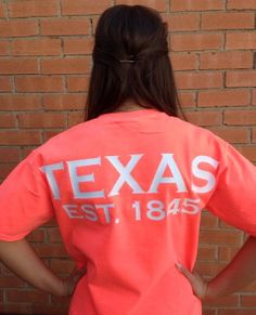 Texas spirit short sleeve t-shirt Texan pride lone star state on Etsy, $25.00