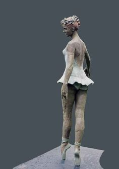 Bronze Sculpture of Classical Ballerina is a Limited Bronze Edition