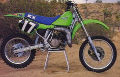 1987 Factory Kawasaki SR125 of Eddie Warren