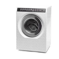 L'INCREVABLE (Julien Phedyaeff et Christopher Santerre) - La machine - 2016. Machine à laver personnalisable, toutes pièces changeables, châssis conçu pour durer plusieurs décennies.