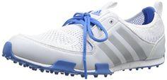 adidas Women's W CC Ballerina II Golf Shoe, Running White/Silver Metallic/Chambray, 5.5 M US adidas http://www.amazon.com/dp/B00NVT2W4Y/ref=cm_sw_r_pi_dp_Ge7Qvb1TKQXPD
