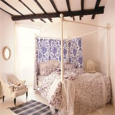 Country Bedroom Design - Love this for Olivia