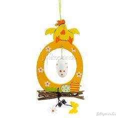 Dekoráció :: Húsvéti dekoráció :: Tojás ablakdísz tyúkkal - Húsvéti dekoráció - Fajáték és Játékbolt - Online Játékbolt - Játék Webáruház!