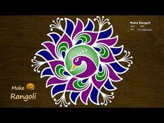 Beautiful Kolam For New Year 2020 With Dots Indian Rangoli Designs, Rangoli Designs Latest, Simple Rangoli Designs Images, Rangoli Designs Flower, Rangoli Border Designs, Rangoli Ideas, Colorful Rangoli Designs, Beautiful Rangoli Designs, Free Hand Rangoli Design