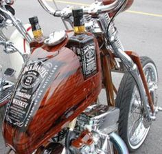 Not a good message at all ~ still a really cool bike though!