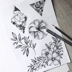 D e l a n e y s a v a n n a h diseños de tatuajes 2019 - Tattoo designs - Dessins de tatouage Kunst Tattoos, Neue Tattoos, Arm Tattoos, Body Art Tattoos, Small Tattoos, Tatoos, Flower Tattoo Designs, Flower Tattoos, Flower Designs