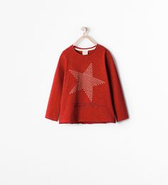 Image 1 of STAR FRONT T-SHIRT from Zara