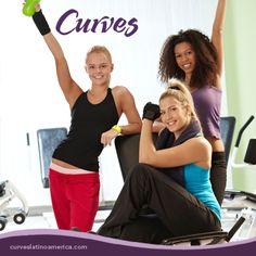 #Diversión, #Salud, #Bienestar y #alegría en el circuito Curves, atrévete a vivir esta experiencia única y divertida que sólo te puede ofrecer la gran familia #Curves.