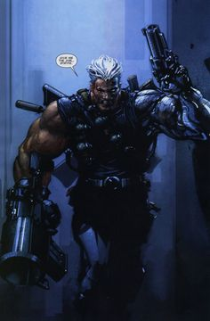 Cable by Clayton Crain