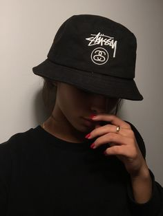 ffaa9217094ec pinterest  wanderlvsst ♡ Stussy Bucket Hat