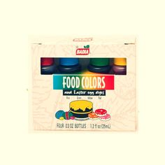 Kit de Colorantes para Comidas (34,0 gr)