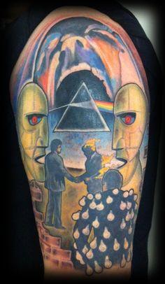 pink floyd sleeve tattoos - Google Search