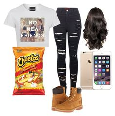 """""""Kya‼️‼️‼️"""" by flawlesssisters ❤ liked on Polyvore featuring 2LUV and Timberland"""