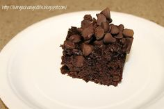 Living a Changed Life: Recipe Review: Chocolate Pudding Cake