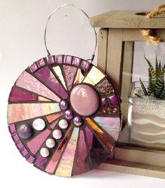 Unique handcrafted glass mosaic garden art from Primrose Mosaics, to enhance your garden and create an eye catching focal point. Mosaic Garden Art, Mosaic Flower Pots, Mosaic Pots, Mosaic Diy, Mosaic Crafts, Mosaic Projects, Mosaic Glass, Mosaic Tiles, Glass Art