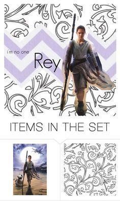 """""""Rey"""" by evol-love ❤ liked on Polyvore featuring art, fandom, starwars, rey and theforceawakens"""
