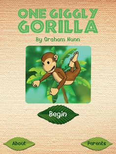 One Giggly Gorilla by Wasabi Productions - Review and Giveaway @ The iMums