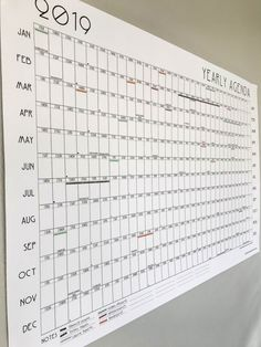 A year at-a-glance calendar + washi tape coding = family planning bliss. We're so excited for travel- & project-planning fun in the new year. At A Glance Calendar, School Calendar, Yearly Calendar, 2021 Calendar, Free Calender, Year Calander, Bujo, Kalender Design, Calendar Organization