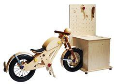 Blinkenberg CPH - Design with a purpose Wooden Bicycle, Wood Bike, Kids Furniture, Furniture Design, Build A Bike, Nordic Living, Balance Bike, Woodworking For Kids, Kids Bike