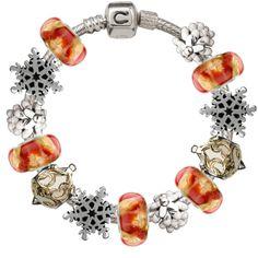 Chamilia Christmas Jewelry Silver Jewellery Bo Box Bracelet Charms