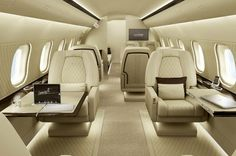 Brabus Private Aviation - Elegance, Designed for Bombardier Global Express aircraft