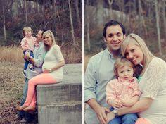 Outdoor Family Maternity Photos