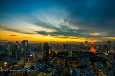Photograph Tokyo Sunset by Randall Scott on 500px