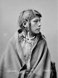 Hidatsa Indians Delneka 1884
