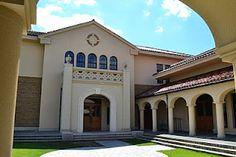 Kobe College where I graduated.